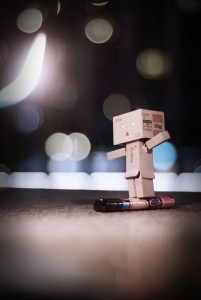 Danbo and the fire